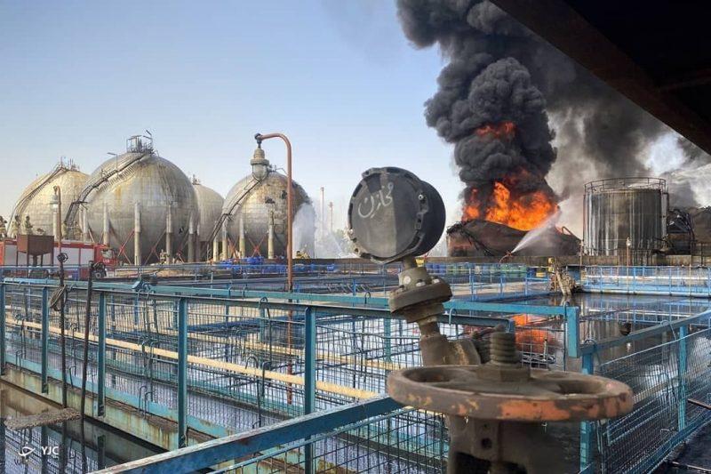 آموزش مدلسازی حادثه آتش سوزی پالایشگاه تهران