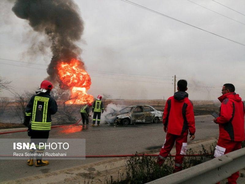 مدلسازی حادثه آتش خط لوله اهواز ماهشهر با نرم افزار phast